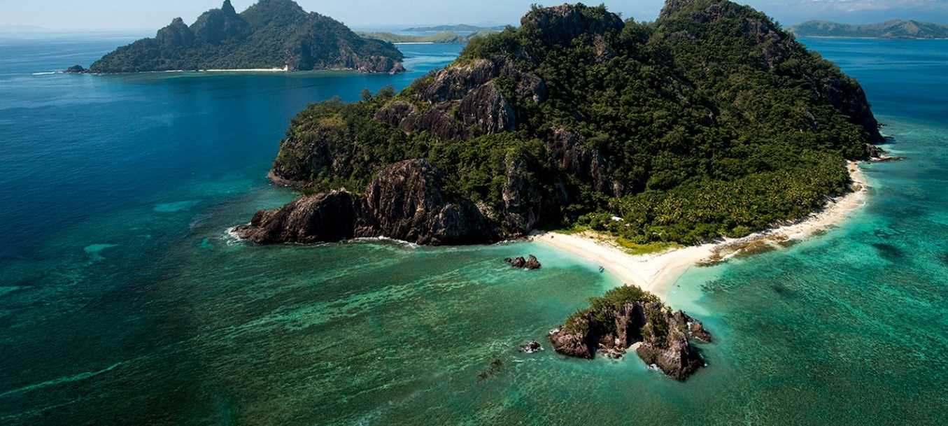 An Island In The Mamanuca Islands Group,Fiji