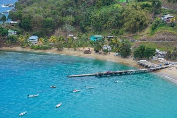 Parlatuvier Bay in Tobago