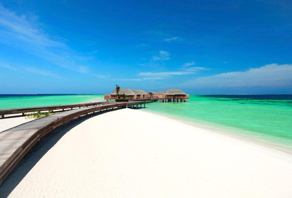 White Sandy Beaches of Maldives